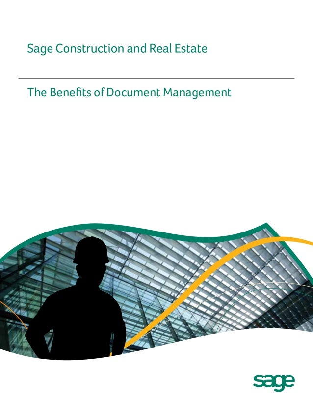 The Benefits of Document Management