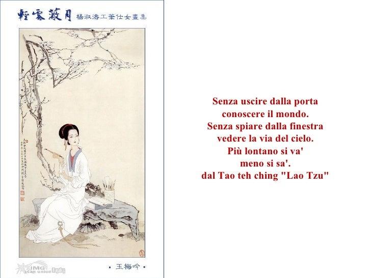 Saggezza cinese - Spiare dalla finestra ...