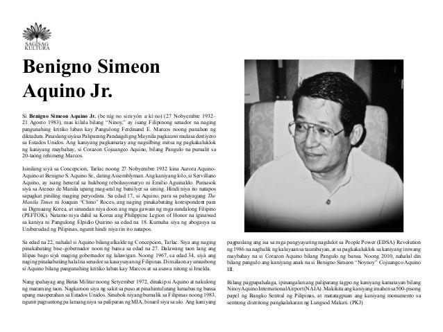 Ang Talambuhay Ni Dating Pangulong Corazon Aquino
