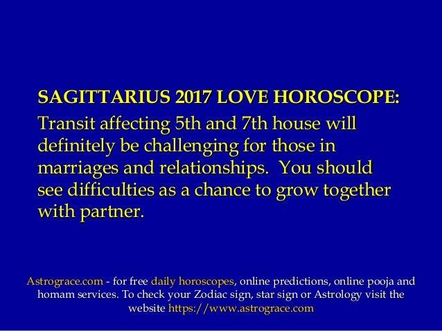 Sagittarius 2017 horoscope predictions