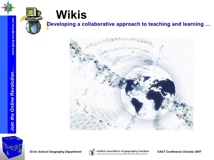 Wikis   Developing a collaborative approach to teaching and learning …