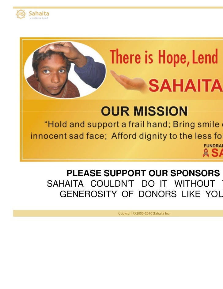 A Helping Hand - San Francisco Bay Area, USA Chapter   PLEASE SUPPORT OUR SPONSORSSAHAITA COULDN'T DO IT WITHOUT THE  GENE...