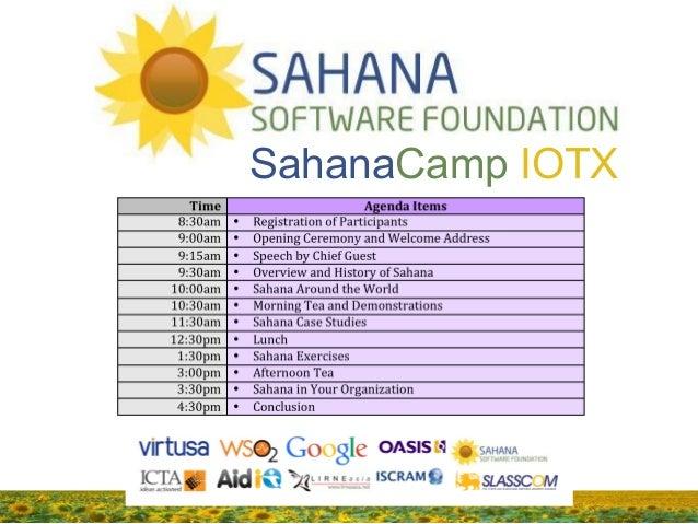 SahanaCamp IOTX