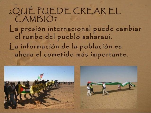 ¡Tú puedes contribuir a difundir la realidad del Pueblo Saharaui! Lázaro