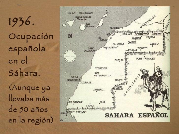 Historia del pueblo saharaui Slide 2