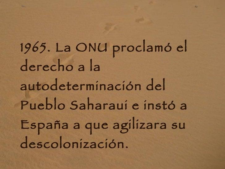 Historia del pueblo saharaui Slide 3