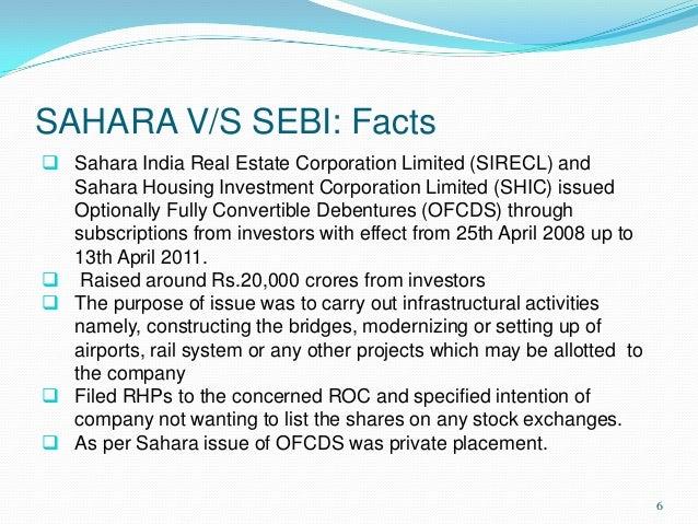 sahara case study in hindi
