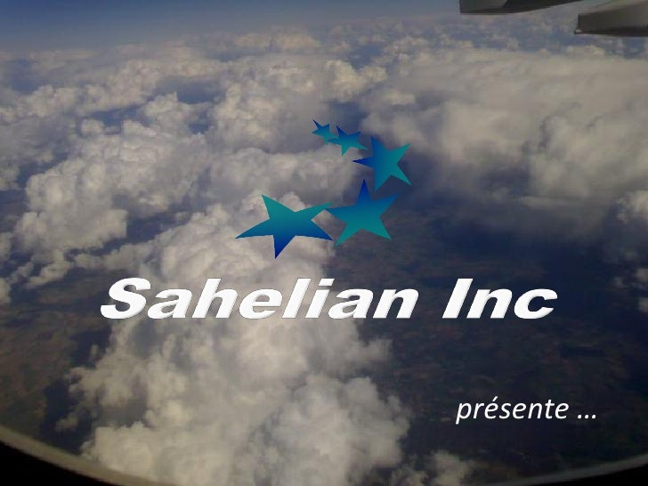 Sahelian Inc. (Usa) – PréSentation De Sahelian Air Group