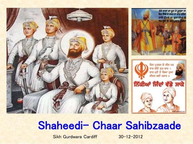 Shaheedi- Chaar Sahibzaade Sikh Gurdwara Cardiff 30-12-2012