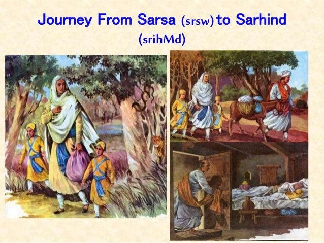 Journey From Sarsa (srsw)to Sarhind (srihMd)