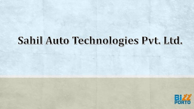 Sahil Auto Technologies Pvt. Ltd. was established in 2011 with only 2 CNC Machines, conventional lathes, and second operat...