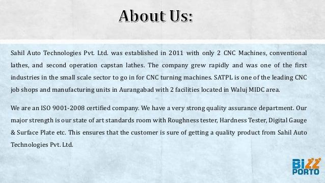 Sahil auto technologies pvt. ltd Slide 2