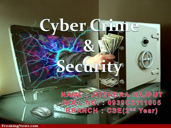 Crime committed using a computer and the internet tosteal a person's identity or illegal imports or maliciousprograms cybe...