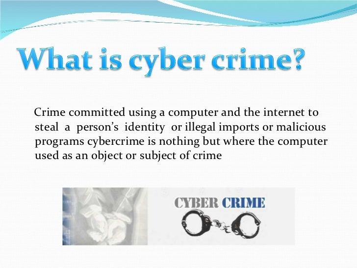 Computer crime essay