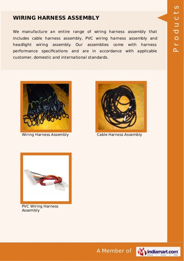 Wiring Harness Manufacturer In Pune : Wire harness manufacturers in chakan pune wiring