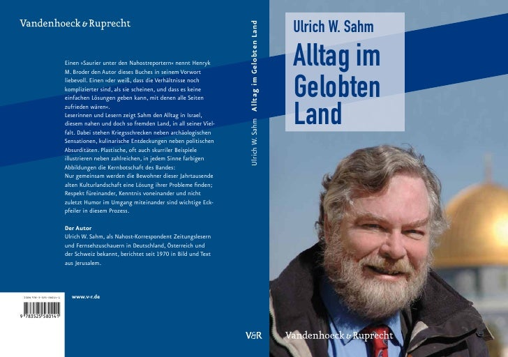 Ulrich W. Sahm Alltag im Gelobten Land