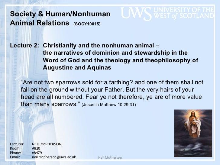 Neil McPherson <ul><li>Society & Human/Nonhuman  </li></ul><ul><li>Animal Relations  (SOCY10015)  </li></ul><ul><li>Lectur...