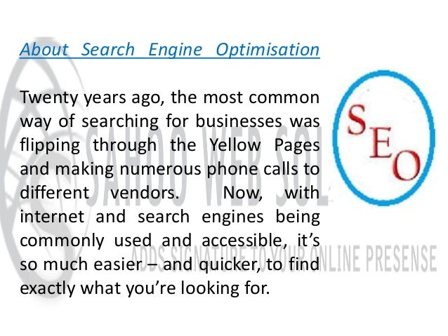 Search engine optimisation - definition of Search engine ...