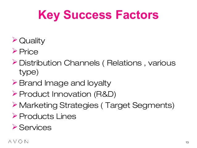 marketing environment factors for the cosmetic industry