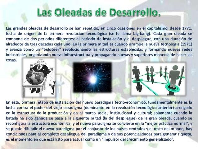 Revolución tecnológica Nombre popular de la época de la revolución País o países-núcleo Big-bang iniciador Año Primera Rev...