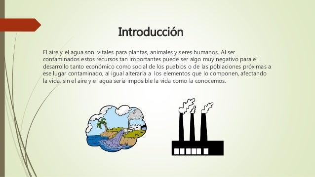 Contaminacion del agua y el aire for Como purificar el aire contaminado