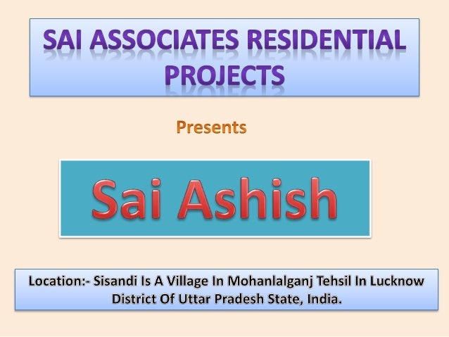 Book Your Plot At Buy Back Scheme • Sai Associates Presents Plots In Sai Ashish Pre Launching Offer At Rs. 350/- Per Sq.Ft...