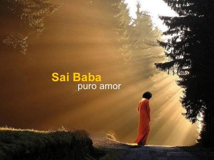 Sai Baba puro amor
