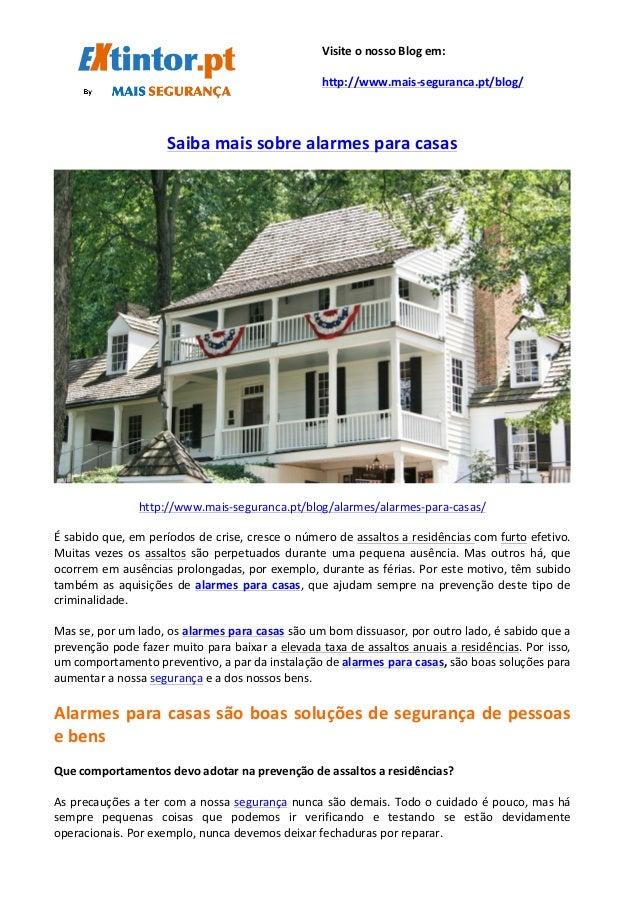 Saiba  mais  sobre  alarmes  para  casas         http://www.m...