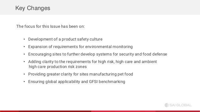 SAI Global Webinar: Deep Dive - BRC Food Safety Issue 8