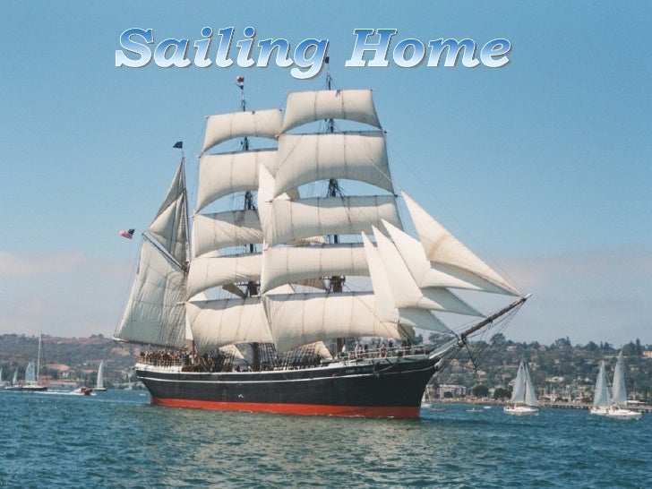 Song:Sailing home  By Piet Veerman