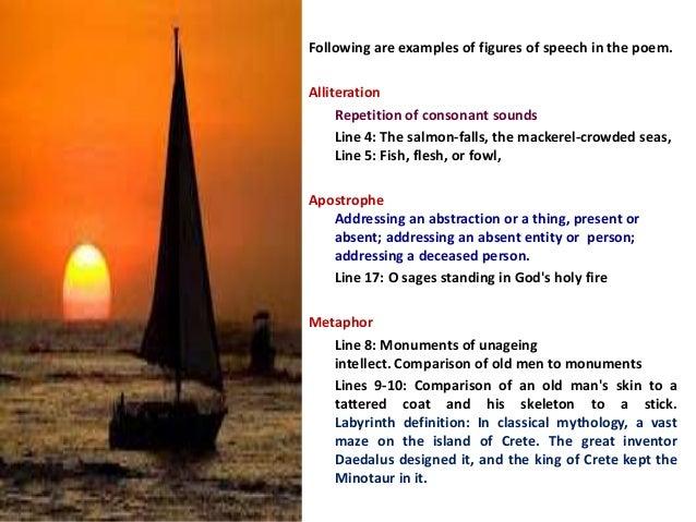 Sailing To Byzatium Byzantium Paraphrase