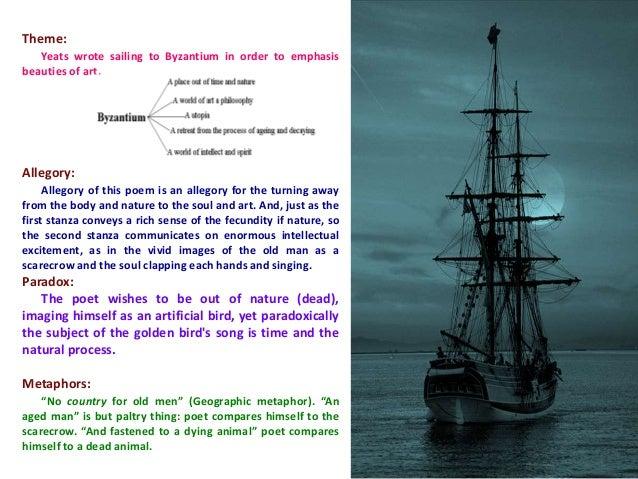 sailing to byzantium second stanza