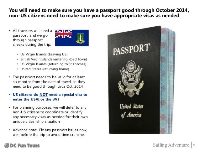 Do You Need Passport To Fly To Virgin Islands