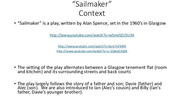 sailmaker critical essay