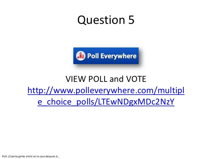 Don't Put Your Cell Phone Away: Polleverywhere and Google ...