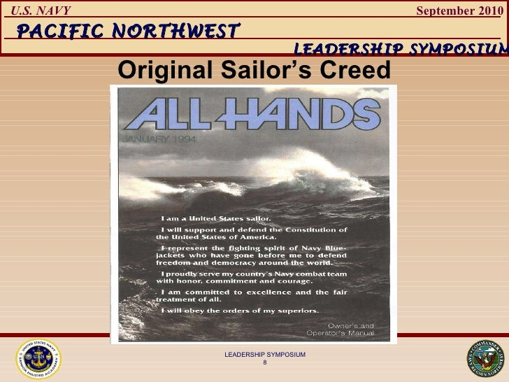 original sailors creed