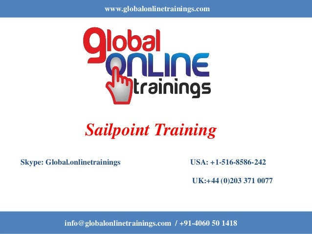 Sailpoint Training | Best Sailpoint IdentityIQ Online Course
