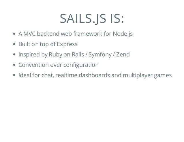 Sails.js Intro Slide 2