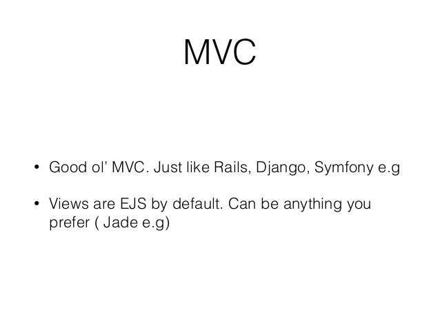 Realtime mvc with sailsjs blueprints just like rails scaffolds but for apis malvernweather Images