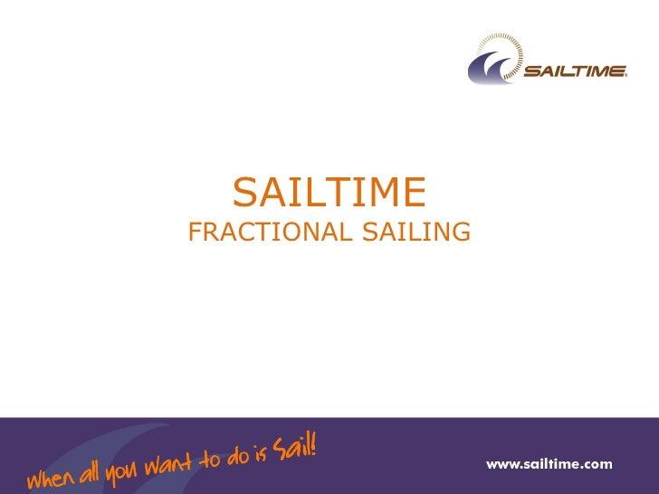 SAILTIME FRACTIONAL SAILING