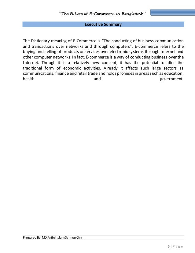 term paper on e commerce in bangladesh Federation of bangladesh chambers of commerce and industry (fbcci) for the term 2017-2018 and 2018  shafiq paper house 169,  e-commerce association of bangladesh.
