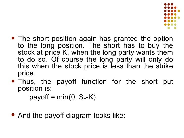 What does it mean when a stock is in a long position?