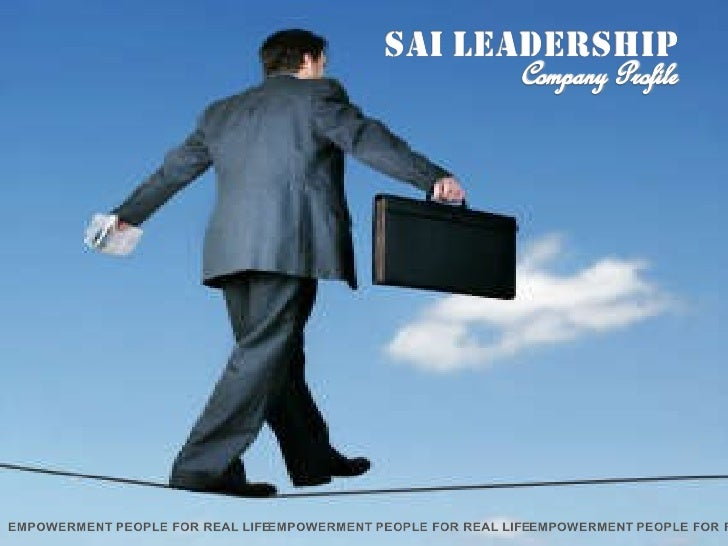 SAI Leadership Centre Slide 1