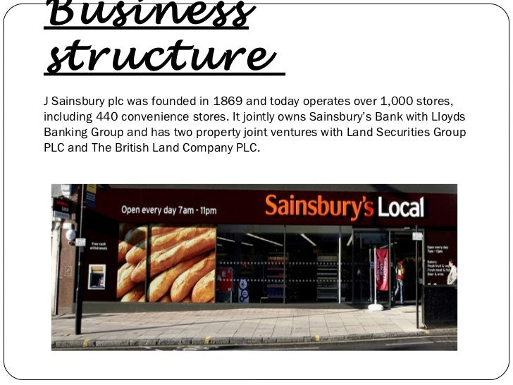 Sainsburys Property Values