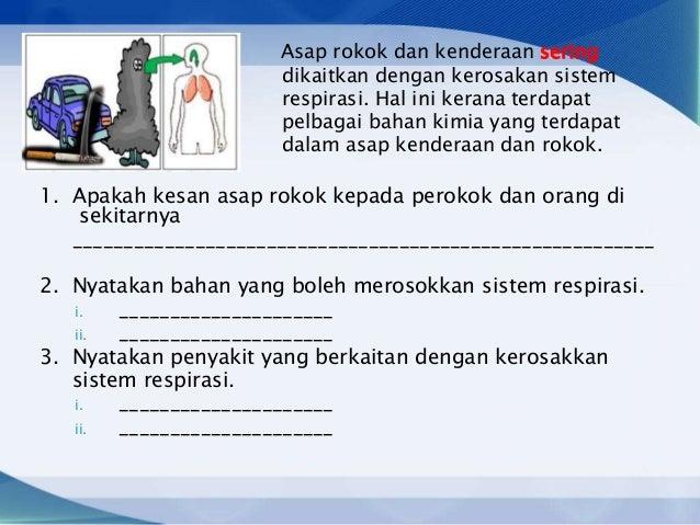 Sains tingkatan 3 sains bab 1 kepentingan sistem respirasi