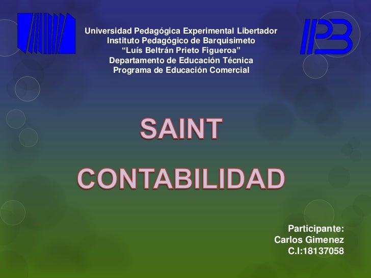 "Universidad Pedagógica Experimental Libertador     Instituto Pedagógico de Barquisimeto         ""Luís Beltrán Prieto Figue..."