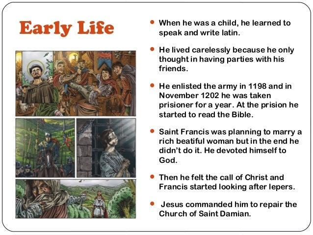 Biography of saint francis of assissi essay