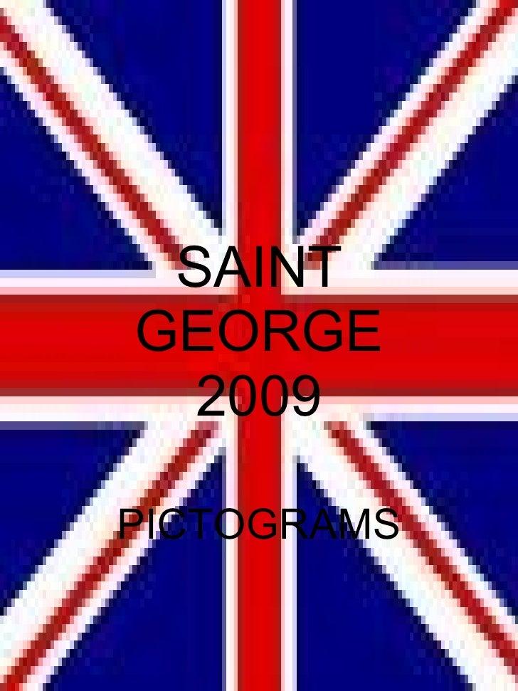 SAINT   GEORGE 2009 PICTOGRAMS