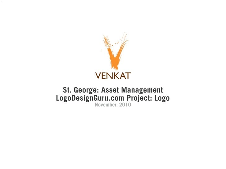 St. George: Asset ManagementLogoDesignGuru.com Project: Logo          November, 2010