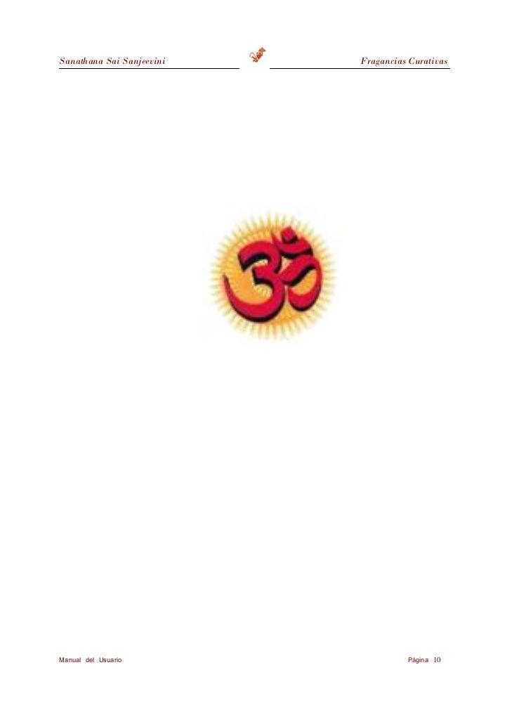 Sanathana Sai Sanjeevini                                                   Fragancias Curativas                     TRATAN...